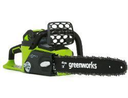 GreenWorks 20312 DigiPro G-MAX 40V Li-Ion 16-Inch Cordless Chainsaw, (1) 4 AH Battery and a Charger Inc.